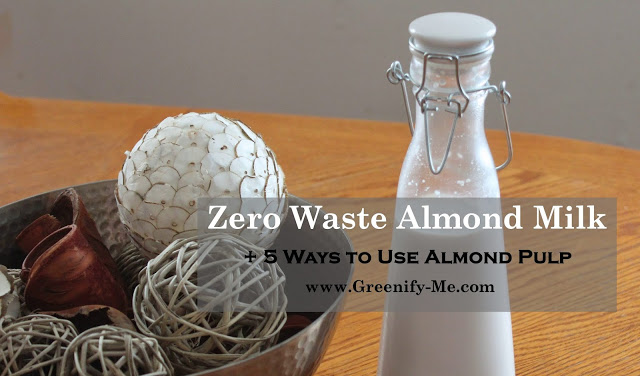zero waste almond milk