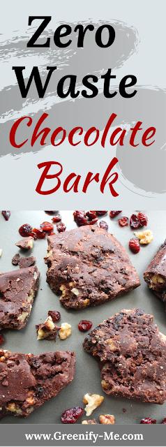 Zero Waste Chocolate Bark