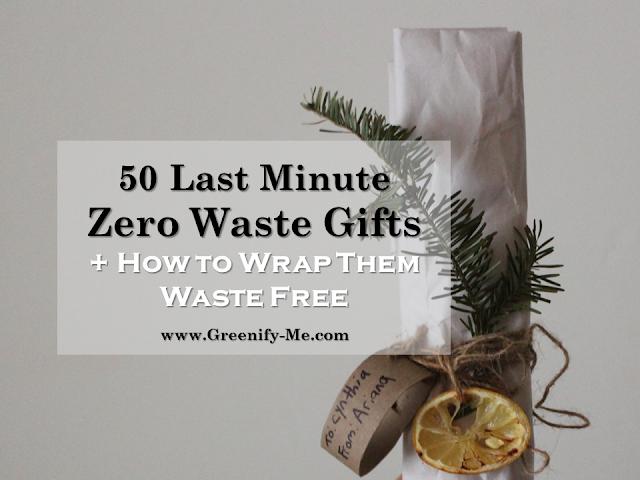 last minute zero waste gifts