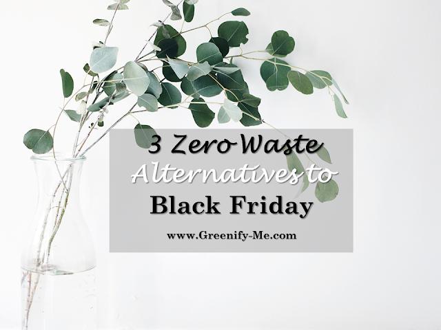 zero waste alternatives to black friday