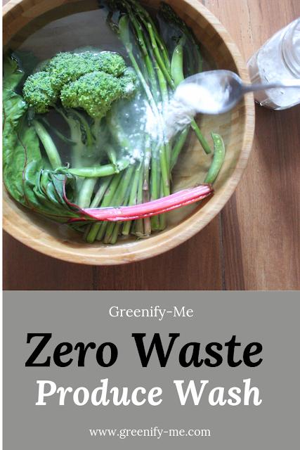 Zero Waste Produce Wash