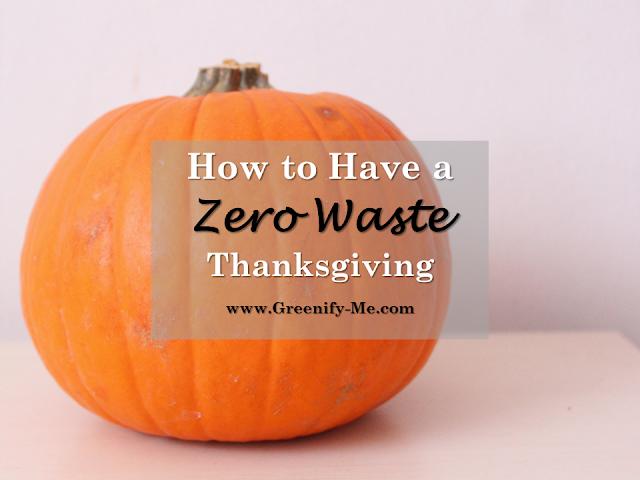 zero waste thanksgiving