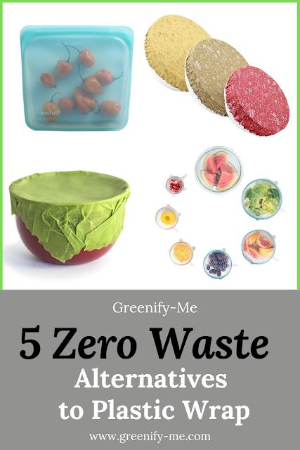 zero waste alternatives to plastic wrap