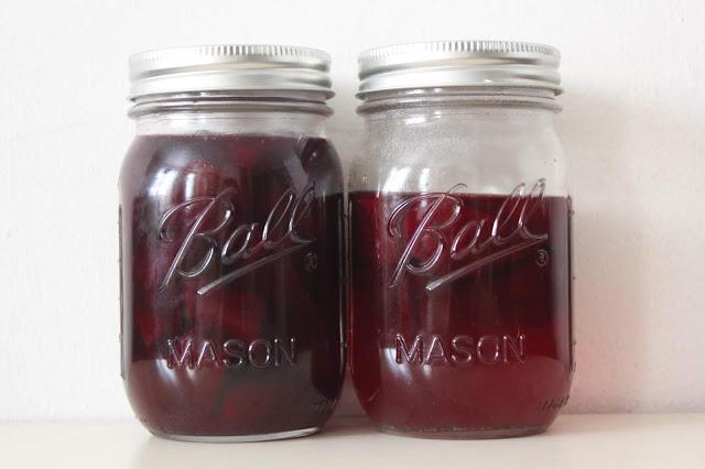 zero waste beet pickles