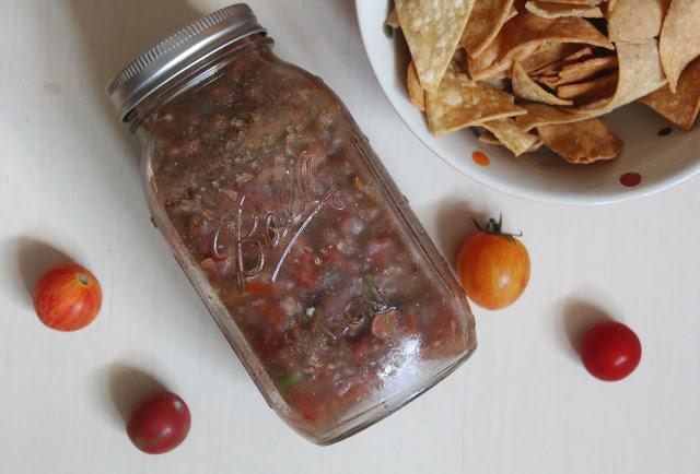 zero waste salsa