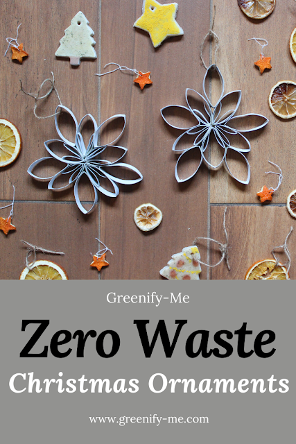 Zero Waste Christmas Ornaments