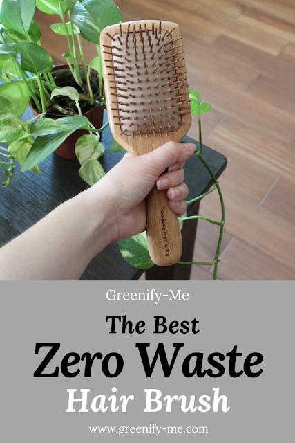 The Best Zero Waste Hair Brush