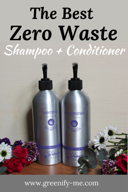 The Best Zero Waste Shampoo + Conditioner