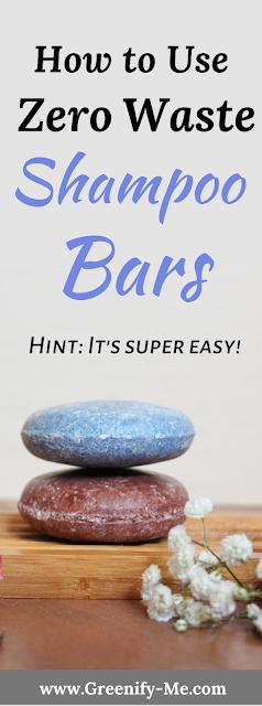 How to Use Zero Waste Shampoo Bars