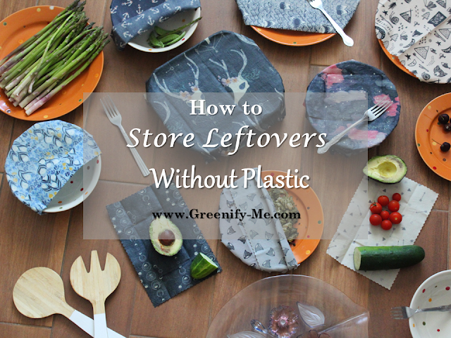 store leftovers without plastic