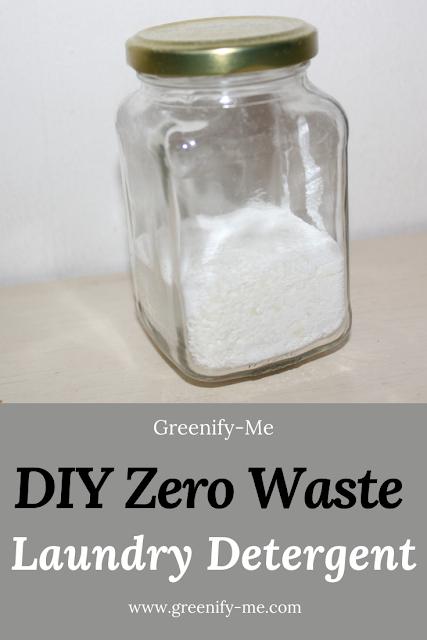 DIY Zero Waste Laundry Detergent