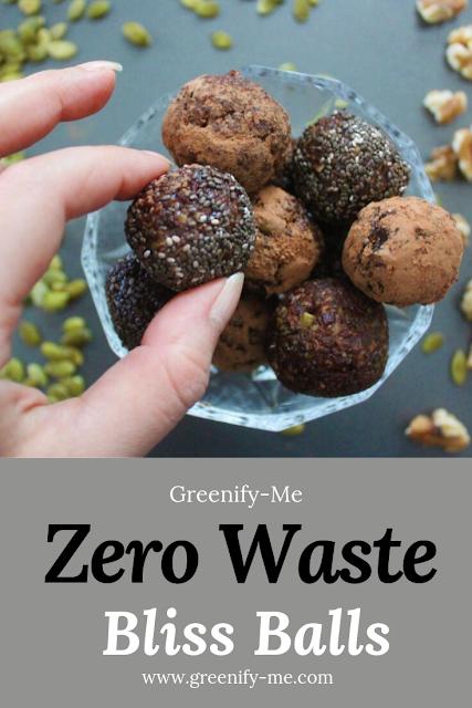 Zero Waste Bliss Balls