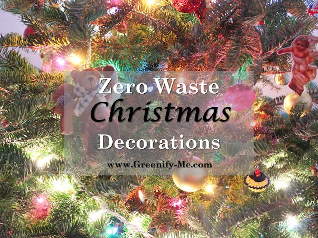 zero waste christmas decorations