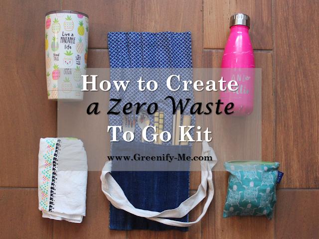 zero waste to go kit