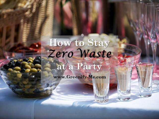 zero waste at a party