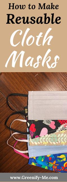 How to Make Reusable Cloth Masks