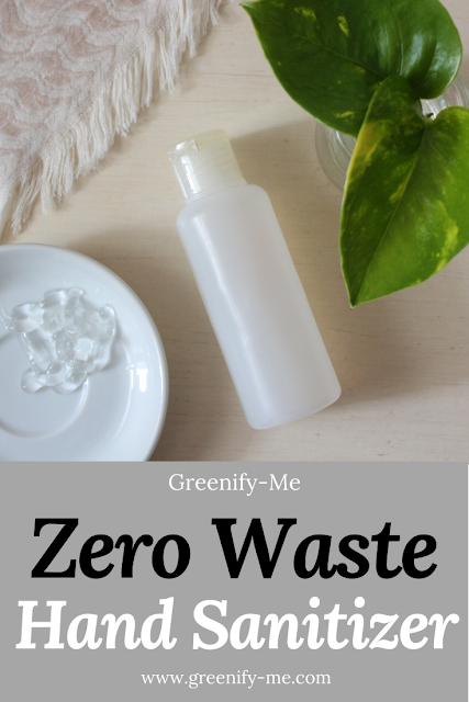 Zero Waste Hand Sanitizer